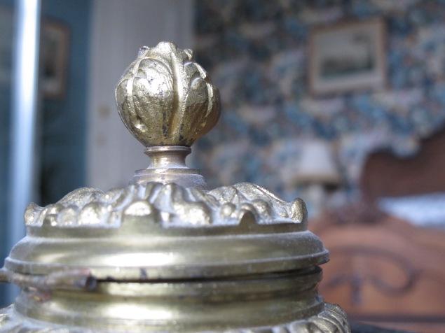 Détail chambre d'hôtes Rousseau