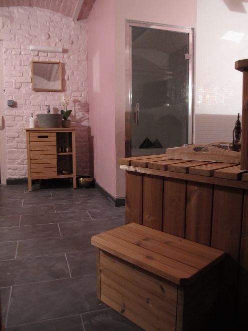 Espace détente - Hammam sauna bain finlandais
