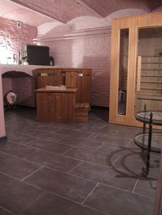 Bain finlandais et sauna